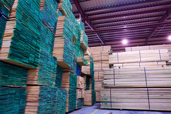 Thompson Hardwoods Lumber Export