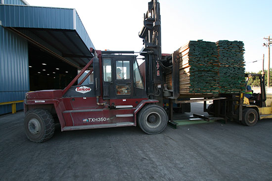 Hardwood Lumber Export