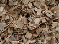 Hardwood and pine chips
